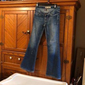 Vintage low cut jeans